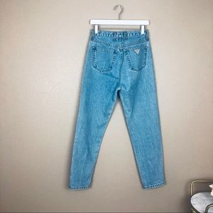 Vintage guess super high rise mom jeans
